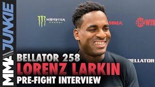 Lorenz Larkin reacts to title shot snub, dislikes rankings | Bellator 258 interview