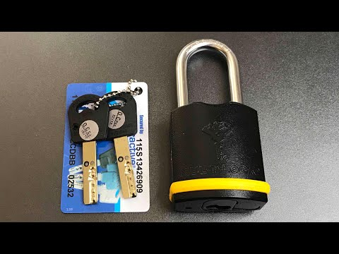 Взлом отмычками Mul-T-Lock E8  [573] Mul-T-Lock E8 Padlock Picked and Disassembled ()