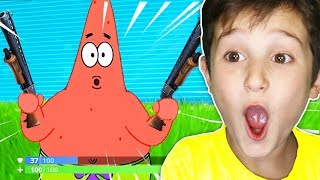 KID REACTS TO FUNNIEST FORTNITE MEMES (TRY NOT TO LAUGH) #2