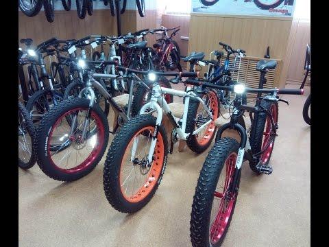 Fat Bike Sinbao фэтбайк, велосипед с толстыми колесами.