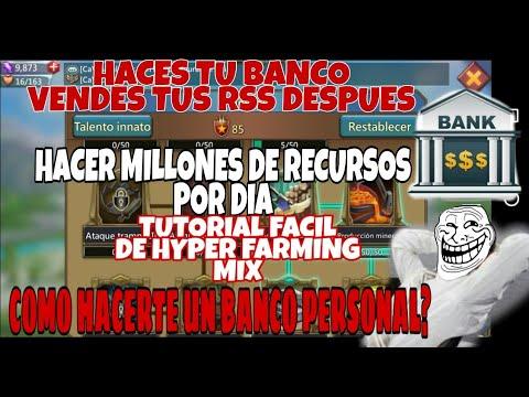 ¿COMO HACERTE UN BANCO PERSONAL? - HACER MILLONES DE RECURSOS POR DIA - TUTORIAL - LORDS MOBILE