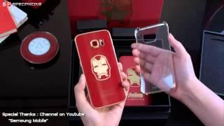 Welcome Iron Man!!! Samsung ส่งวีดีโอแกะกล่อง Samsung Galaxy S6 Edge เวอร์ชั่นฮีโร่