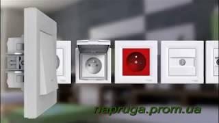 ASFORA - розетки выключатели. Презентация  электро установочных изделий  Schneider Electric