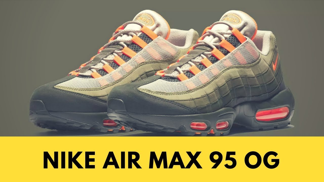 sale retailer 604d3 dcce4 Nike Air Max 95 OG Solar Red