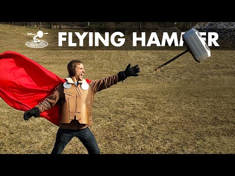 "Can I Make Thor's Hammer ""Mjölnir"" Fly?"