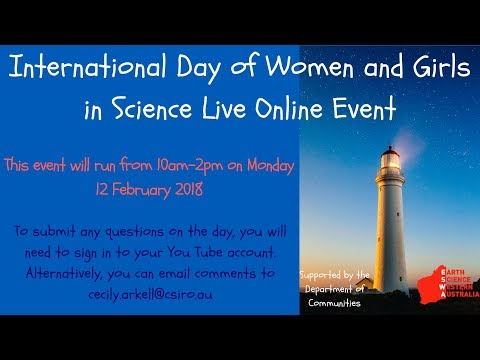 International Day of Women and Girls in Science Live Stream