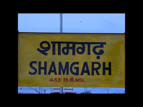 Rajdhani's, Duronto's, Garib Rath & Superfast Trains Of Indian Railways go Rampant at Shamgarh..!!