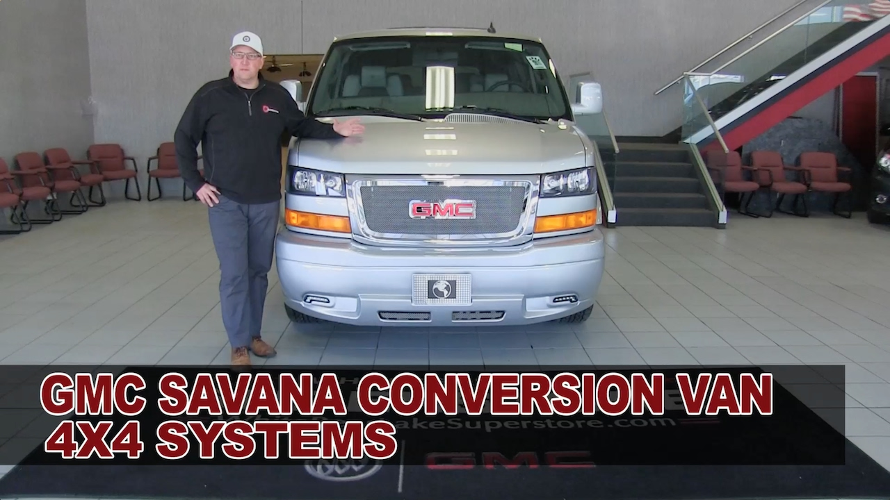 GMC Savana Conversion Van 4X4 Systems