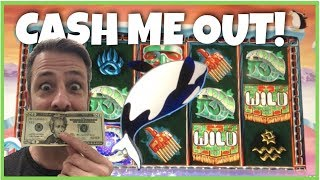 CASH ME OUT at CHUMASH CASINO! Slot machine cash out strategy so you never lose all your $