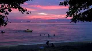 Сиреневый вечер в Паттайе. Lilac evening in Pattaya