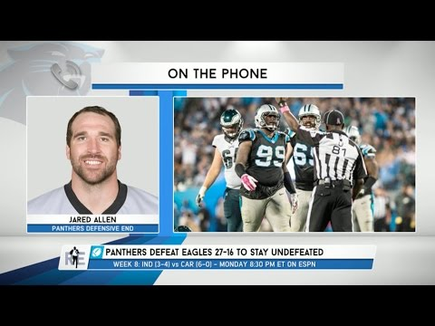 DE Jared Allen Talks Playing for the Carolina Panthers - 10/29/15