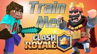 How to play Clash Royale | Teach a Youtuber how to Play Clash Royale | Clash Royale Lets Play