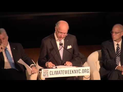 Laurent Fabius, Foreign Minister, France at Climate Week NYC 2014