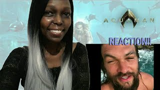 Aquaman Trailer Teaser 1 SDCC 2018 Reaction!