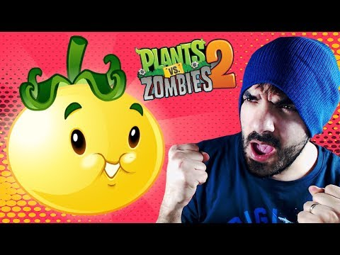 EL TOMATE SOLAR ⭐️ Plants vs Zombies 2 | iTownGamePlay