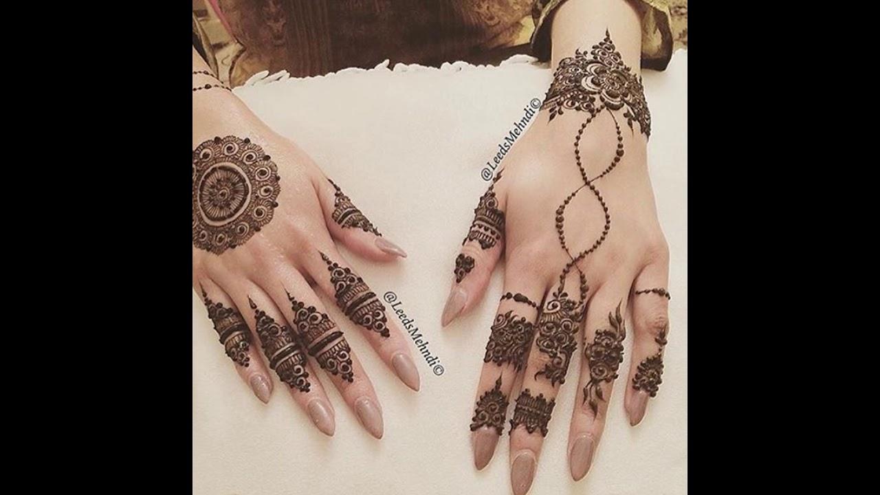 Fancy Mehndi Design: Classic & Fancy Mehndi Designs For Girls