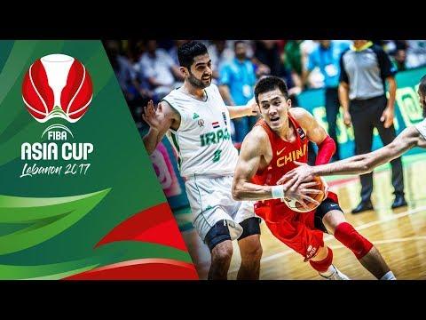 Iraq v China - Highlights - FIBA Asia Cup 2017