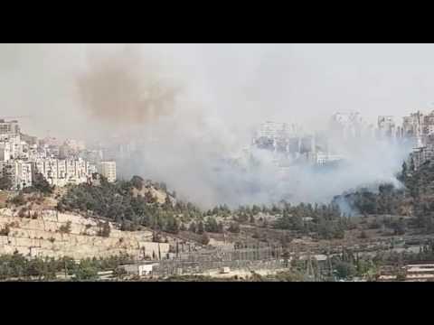Sorotzkin /Panim Meiros Streets blaze (Media Resource Group)