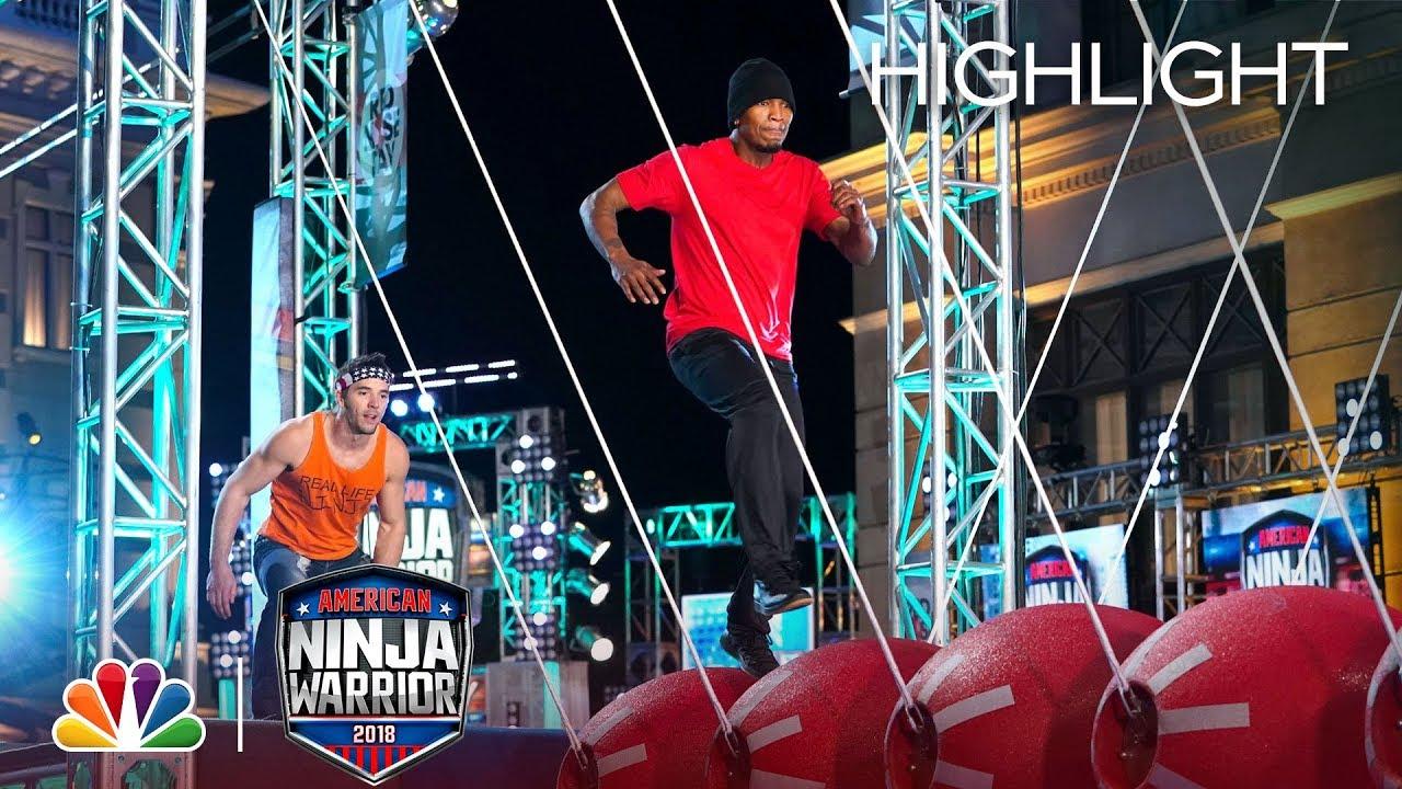 Download NE-YO's Ninja Warrior Run for Red Nose Day - American Ninja Warrior 2018