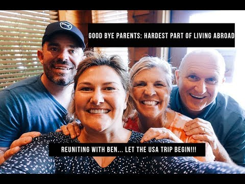 HELLO BEN, GOODBYE PARENTS AND ARIZONA ||| USA TRIP VLOG