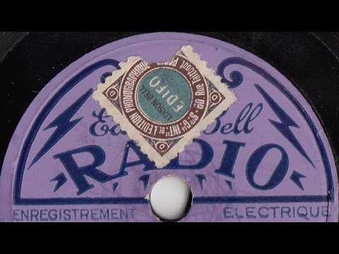 EDISON BELL RADIO - Orlando et son Orchestre argentin - Tango 1929