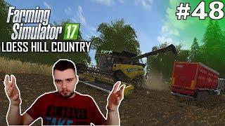 OSTANIE ŻNIWA #48 - Farming Simulator 17 Loess Hill Country   SWIATEK