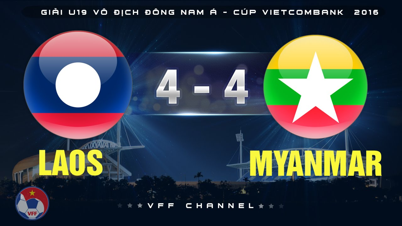 Video: U19 Lào vs U19 Myanmar