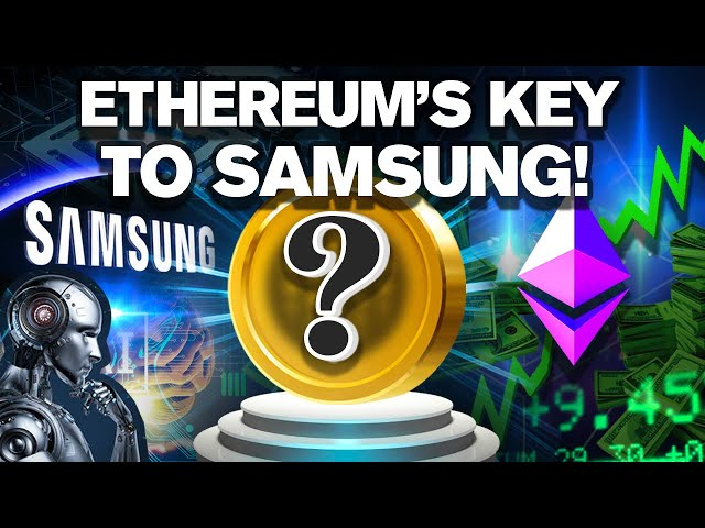 Ethereum's ALTCOIN Key to Samsung Drops this Week!?