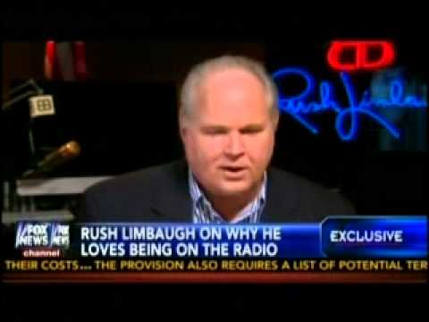 The  Limbaugh Theorem    Rush Limbaugh's interview with Gret
