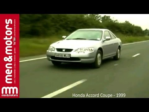 Honda Accord Coupe - Test Drive & Review (1999)
