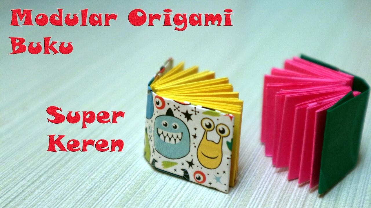 Cara Membuat Origami Pembatas Buku