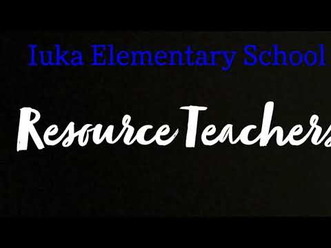 Iuka Elementary School Resource Teachers