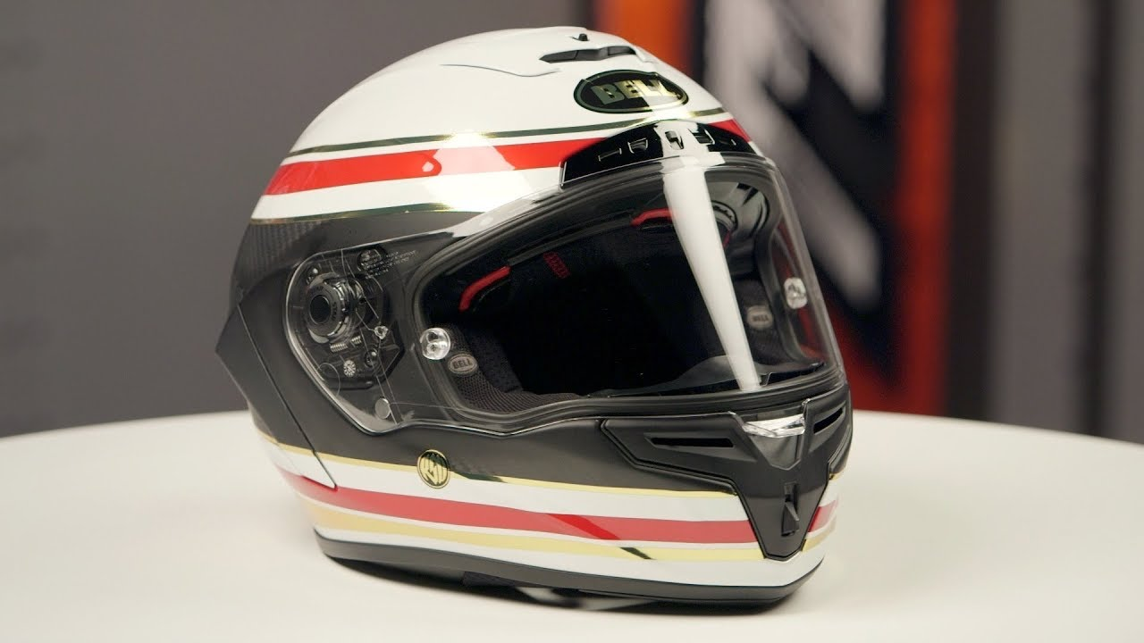 Bell Motorcycle Helmet >> Bell Race Star RSD Formula Helmet Review at RevZilla.com - YouTube