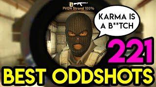 "CSGO - ""INSTANT KARMA !"" - BEST ODDSHOTS #221 (+GIVEAWAY)"