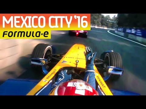 Ultimate Onboard Compilation: Mexico City 2016 - Formula E