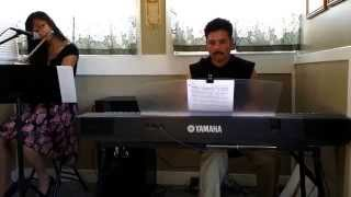Yesterday (Beatles) flute & piano cover by AMS Band
