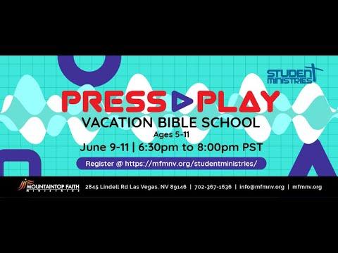 Press Play VBS