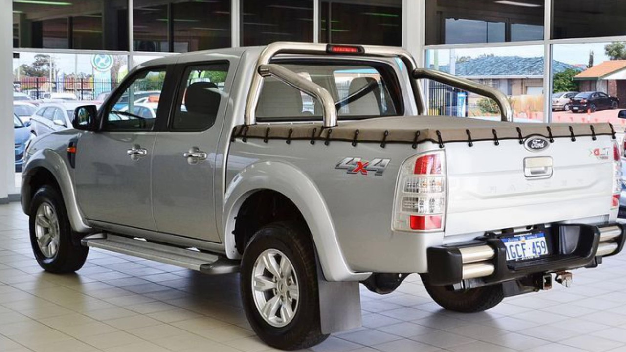 2011 ford ranger pk xlt 4x4 silver 5 speed manual dual. Black Bedroom Furniture Sets. Home Design Ideas
