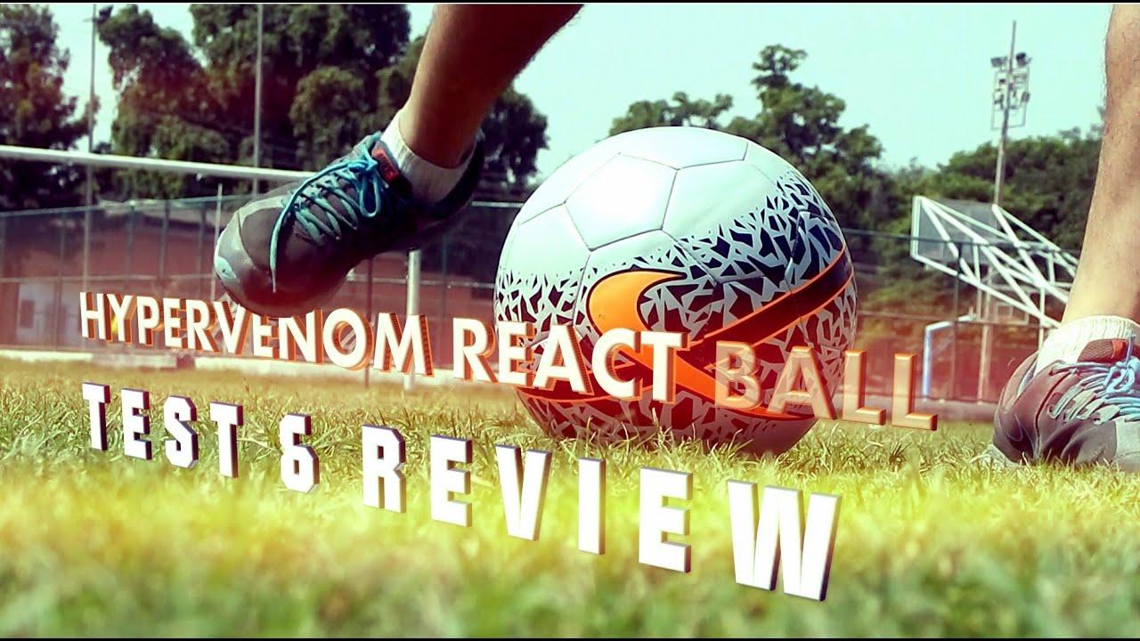 reputable site 07393 64b1b Nike Hypervenom React Ball