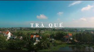 (English caption below) Vườn rau Trà Quế - Thiên đường xanh trong H...