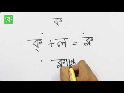 How to write Bengali Conjunct ক্ল Ka+La