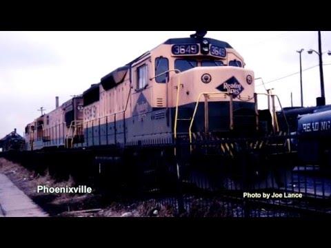 Reading Rail Road -- Philadelphia Area -- 1969