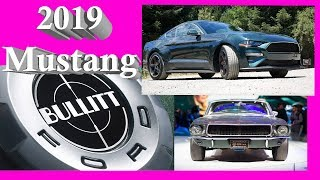 2019 Ford Mustang BULLITT Review- What makes this so special
