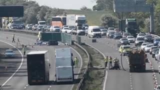 M6 crash leaves five dead