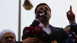 Turkey's pro-Kurdish leader calls for resistance in Diyarbakir