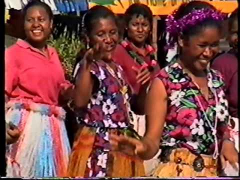 Celebrations at Alukuni , Central Province, Papua New Guinea