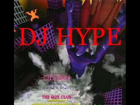 Dj Hype @ Obsession Innovation Que Club 27th November 1993