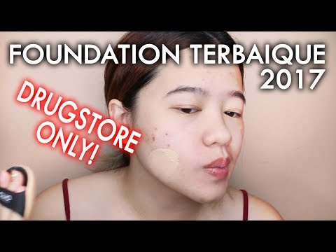 TOP FOUNDATION DRUGSTORE 2017