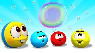 Bubble Fun with Squishy Balls | Cartoons For Children by Cartoon Candy