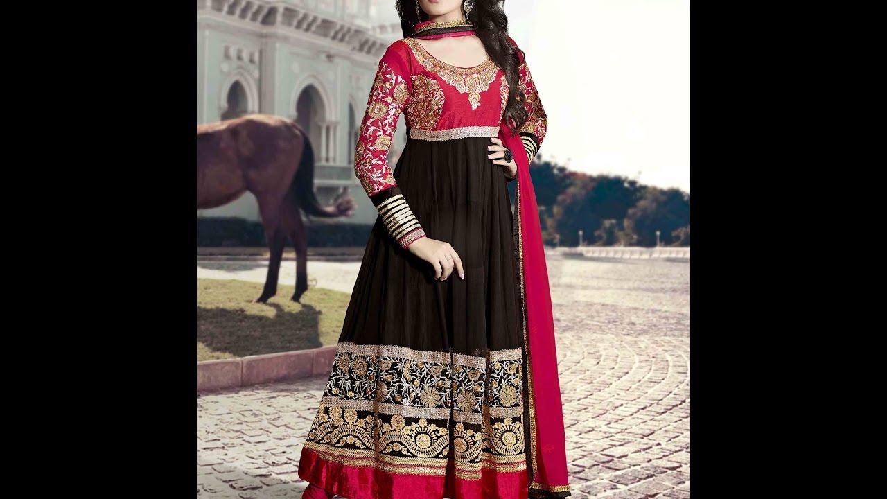 88b9fbec4e0 Ladies Salwar Kameez- Kurti Suit Latest Fashion for Girls 2016- 2017 -New  Burka Fashion